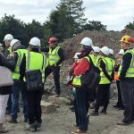Scottish Rural Parliament Visit at Denfind Stone Quarry